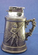 Lovely Figural Vintage table Lighter Beer Mug