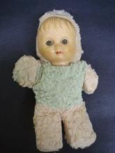 Adorable Vintage Doll  Soft   Cute Baby