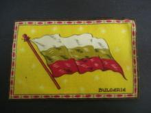 Tobaco Felt Flannel Flag - BULGARIA