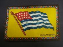 Tobaco Felt Flannel Flag - SALVADOR