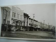 Real Photo History Neepawa Manitoba Canada 1934 Krendle Sale