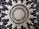 INTRICATE  Antique LACE SAMPLER DOILY