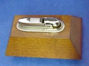 Art Deco Wood & Chrome BENTLEY LIGHTER