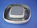 Enamelware Ashtray Auto FIAT