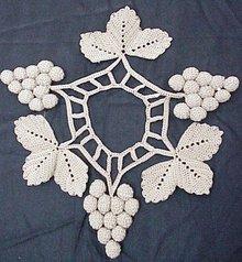 Precious Uncommon Figural lace