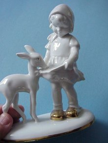 BEAUTIFUL ANTIQUE BAVARIAN FIGURINE