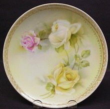 SHABBY CHIC PLATE - RS GERMANY