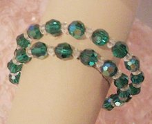 Beautiful 1940's-50's Crystal BRACELET