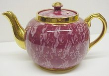 ANTIQUE BURSLEM SUDLOW'S TEAPOT