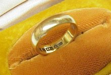 Antique 18k Wedding Band - RING