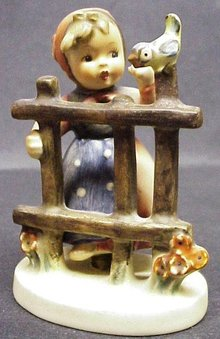 M.J.Hummel Figurine - SIGNS of SPRING