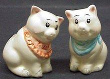 FIGURAL SALT & PEPPER - CUTE PIGS