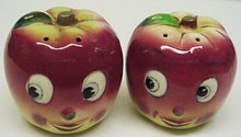 PRETTY APPLE HEADS -  PEPPER & SALT