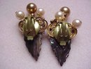 SPECTACULAR VINTAGE CLIP ON EARRINGS