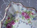 PRETTY ROYAL ALBERT DISH - PETIT POINT