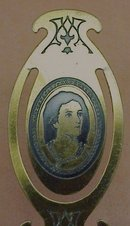 VICTORIAN BOOKMARK- R.BURNS