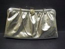 LOVELY VINTAGE SILVER TONE PURSE