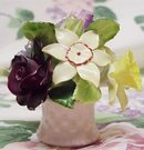 ADDERLEY China Flower Bouquet - FLORAL