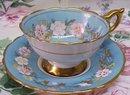 Herloom Vintage Cup and Saucer Set