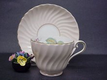 Lovely  Aynsley Cup and Saucer English Bone China