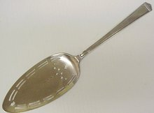 WONDERFUL ANTIQUE CAKE SERVER