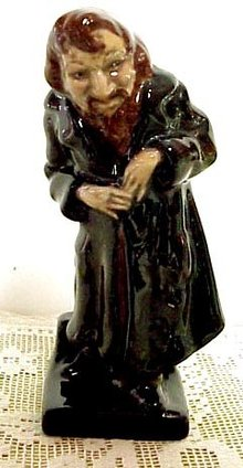 Unique ROYAL DOULTON DICKENSWARE Figurine FAGIN