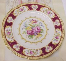 ROYAL ALBERT 9 1/4 PLATE - LADY HAMILTON