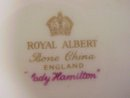 ROYAL ALBERT 9 1/4 PLATE - LADY HAMILTON 2