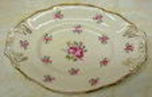 SHABBY ROSES Oval Dish