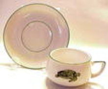 Unique Demitasse Tea Cup & Saucer