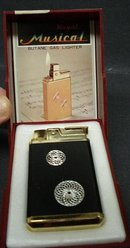 ROYAL MUSICAL LIGHTER - ORIG.BOX