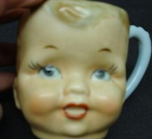 UNIQUE  BABY CUP - DOLLS FACE