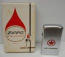 ZIPPO LIGHTER/BOX - AIR CANADA