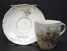 DEMITASSE CHOCOLATE CUP & SAUCER