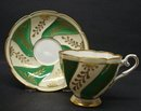 ROYAL STAFFORD CUP&SAUCER GOLD GILT