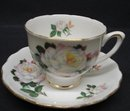 ELEGANT ROYAL VALE CHINA CUP&SAUCER