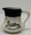 SOUVENIR JUG - LONG MELFORD CHURCH