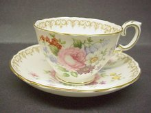 SHABBY ROSES, CROWN STAFFORDSHIRE CUP and