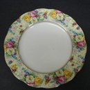 ROYAL ALBERT CROWN CHINA CHINTZ PLATE
