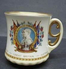 Royal Doulton MUG - 1937 Coronation