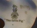 Royal Doulton **THIS LITTLE  PIG** HN 1793
