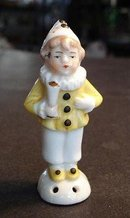 ANTIQUE PIN CUSHION DOLL - CHILD BOY #19