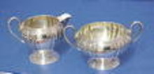 BIRKS  STERLING Cream and Sugar Set