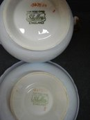 SHELLEY FINE BONE CHINA CREAM & SUGAR