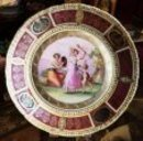 HAND PAINTED  PLATE - GOLD GILT - AUSTRIA