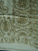 GOLD EMBROIDERY -  TABLECLOTH&NAPKINS