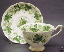 ROYAL ALBERT CHINA CUP AND SAUCER - IVY LEA
