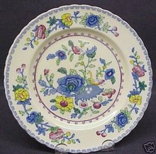 BEAUTIFUL ANTIQUE MASON'S PLATE