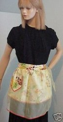 SHABBY PRINT - ORGANDY DOUBLE APRON