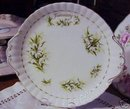 ROYAL ALBERT CAKE PLATE - SNOW DROPS